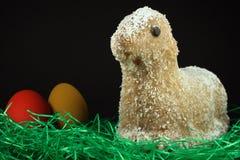 Agnello di Pasqua Fotografia Stock
