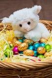 Agnello di Pasqua Immagini Stock