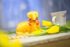 Agnello di Pasqua Fotografie Stock