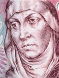 Agnes of Bohemia portrait Stock Images