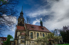 Agnes Church Altenburg Germany. Old Agnes Church Altenburg Germany Stock Photo