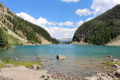 agnes jezioro Zdjęcia Royalty Free