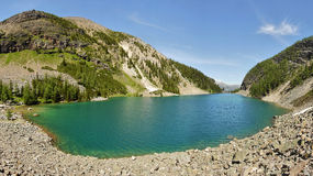 agnes jezioro Obraz Royalty Free