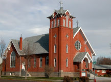 agnes kościół św Obrazy Stock