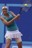 Agnes Szavay in WTA Prague open Stock Images