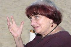 Agnes Varda Lizenzfreie Stockfotos