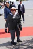 Agnes Varda uczęszcza 70th Rocznicowego photocall Obraz Royalty Free