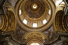 ` Agnese de Sant à Rome Agone, Italie Photo libre de droits