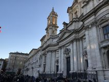 ` Agnese de Sant em Agone - Roma Imagem de Stock