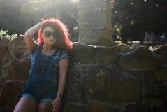 Agnese flickamodell Fotografering för Bildbyråer