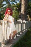 Agnese-Mädchenmodell Stockbilder