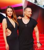 Agnia Ditkovskite at Moscow Film Festival Royalty Free Stock Photo