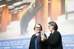 Agnieszka Holland and Kasia Adamik Stock Photos