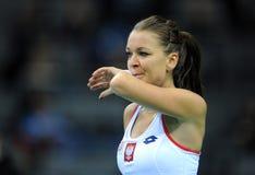 Agnieszka Radwanska Stock Foto