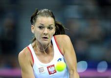 Agnieszka Radwanska 3 Stock Image