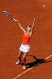 Agnieszka Radwanska (PÔLE) chez Roland Garros 2009 Image stock