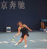 Agnieszka Radwanska (POL.) in Open China royalty-vrije stock afbeelding