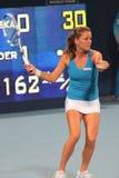 Agnieszka Radwanska (POLÍTICO), jugador de tenis Fotografía de archivo libre de regalías