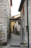 Agnone medieval village in Italy Royalty Free Stock Images