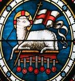 Agnus Dei - baranek bóg Zdjęcia Stock