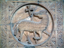 Agnus Dei baranek bóg Obraz Royalty Free