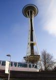 Ago della monorotaia & dello spazio di Seattle Immagine Stock