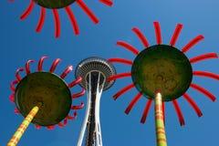 Ago dello spazio a Seattle Immagini Stock Libere da Diritti