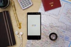 Agoda Application Stock Photos