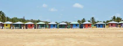 Agonda beach. South Goa, India Stock Photography