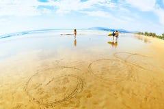 Agonda plaża Obrazy Stock