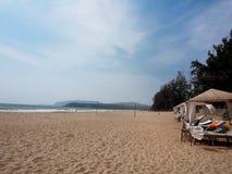 Agonda plaża Zdjęcia Stock