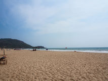 Agonda plaża Fotografia Stock