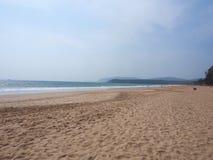 Agonda plaża Fotografia Royalty Free