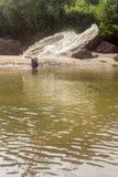 Agonda plaża Goa, India Obrazy Stock