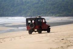 Agonda plaża, Goa, India Zdjęcia Royalty Free