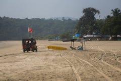 Agonda plaża, Goa, India Zdjęcie Royalty Free