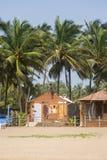 Agonda plaża przy Goa, India Obrazy Stock