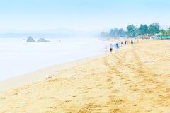 Agonda plaża w Goa Zdjęcie Royalty Free