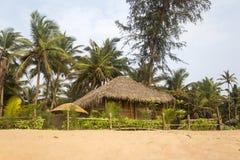 Agonda plaża w India Obrazy Stock