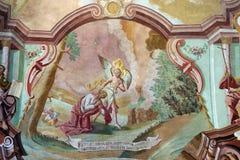 Agonia w ogródzie Zdjęcia Stock