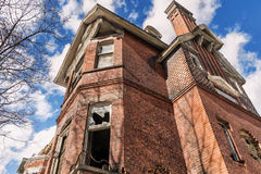 The agony of the Redpath mansion Royalty Free Stock Photo