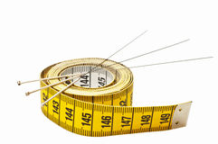 Agopuntura per perdita di peso Fotografia Stock