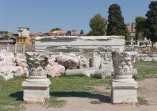 Agor ruiny pod przywróceniem Obraz Royalty Free