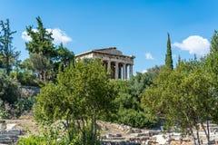 Agora à Athènes images stock