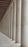 Agora antique à Athènes Image libre de droits
