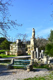 Agora antique d'Athènes classique Photos libres de droits