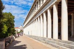 agora antyczny Athens Obraz Royalty Free
