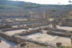 Agora antyczny Kamiros na słonecznym dniu Obraz Stock