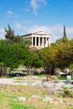 Agora Ateny, Grecja Obrazy Stock