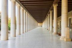 Agora Ateny, Grecja Fotografia Stock